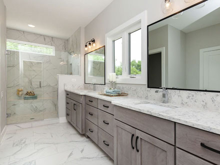 custom Bath Cabinetry
